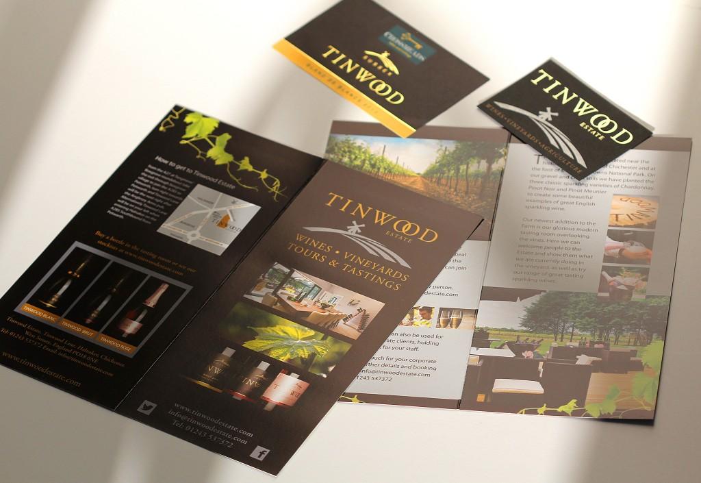 tinwood brochure design