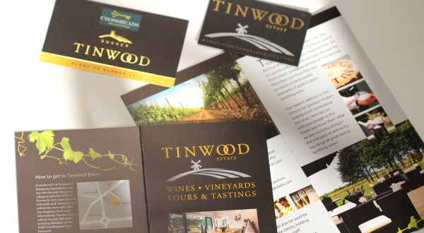 Brochure and Card Design for Tinwood, Chichester