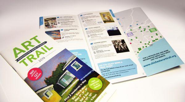 Chichester Art Trail Brochure Design