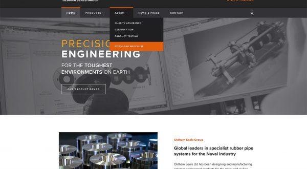 Website Design for OSG in Chichester