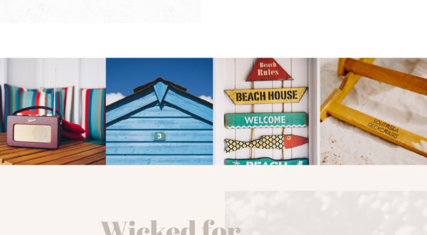 Website for Wittering Beach Hut